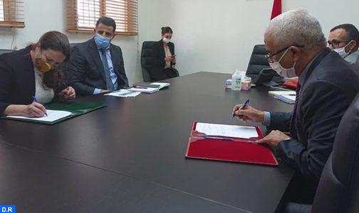 توقيع اتفاقية شراكة بين وكالة حساب تحدي الألفية-المغرب والتنسيقية الوطنية للمبادرة الوطنية للتنمية البشرية