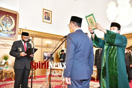 Gubernur Sulsel Melantik Muhammad Djufri Sebagai Kadis Pendidikan Sulsel