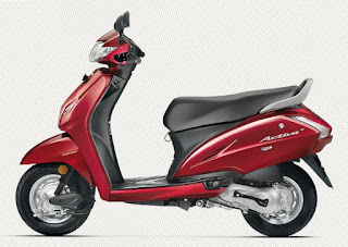 Honda Activa 4g red color