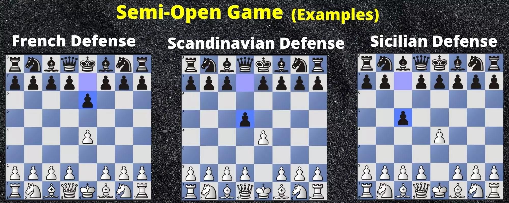 Semi Open Game
