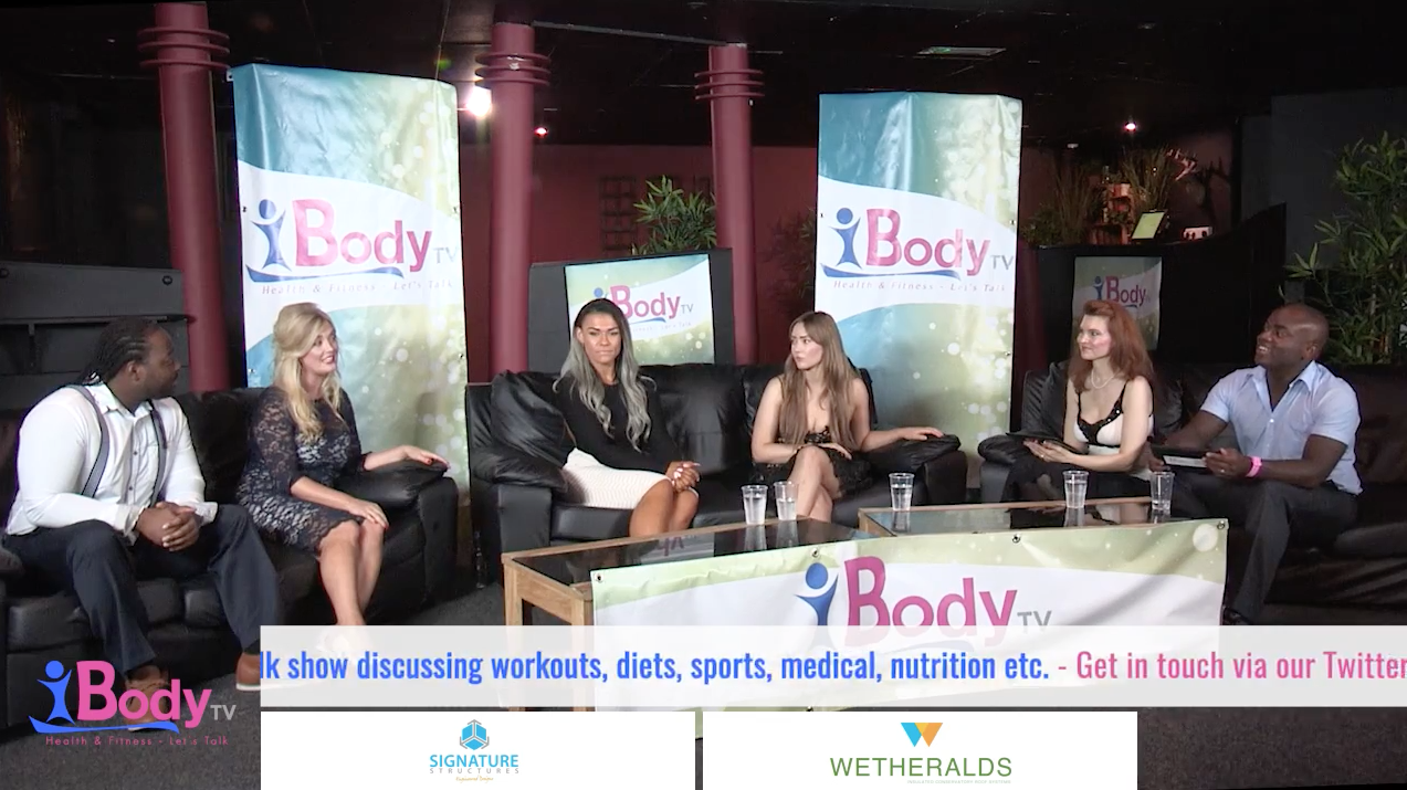 my appearance on health and fitness talk show ibody tv! #ad - hannah