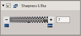 OV3 Sharpness & Blur tool