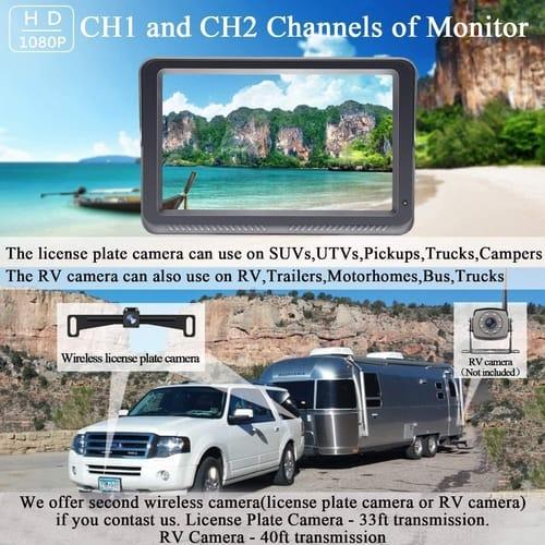 DoHonest DIY - S23 Digital Wireless Backup Camera Kit