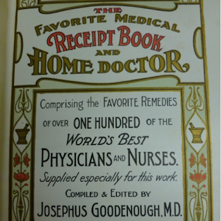 Screengrab of cover of 1904 medical manual