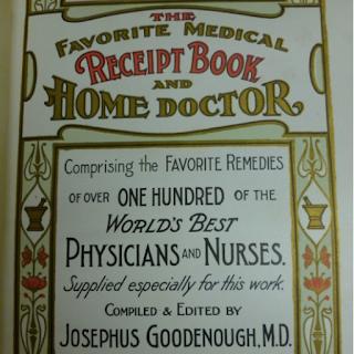 Screengrab of cover of 1904 medical manual