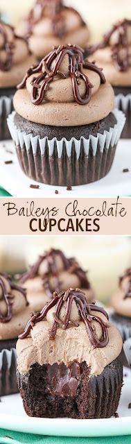 Baíleys Chocolate Cupcakes