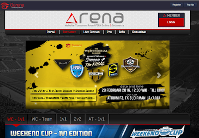 Anniversary Tournament FIFA Online 3 Garena Indonesia