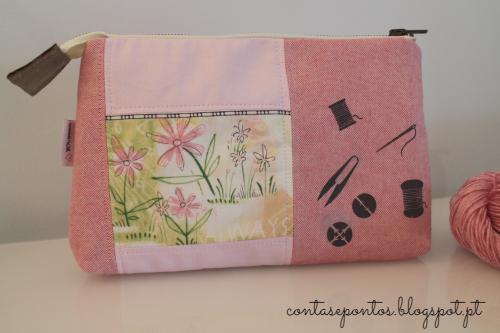 Bolsa para agulhas intercambiáveis - tricot