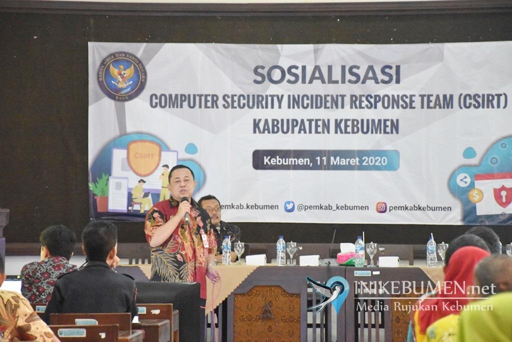 Rentan Serangan Siber, Pemkab Kebumen Bakal Bentuk Tim Gov-CSIRT