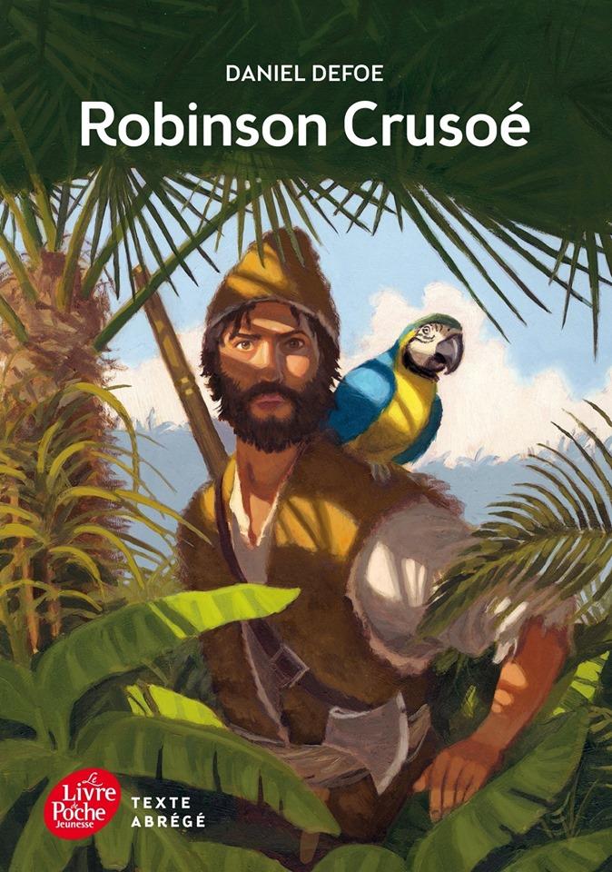 قصة روبنسون كروزو باللغة الفرنسية  Daniel Defoë Robinson Crusoé