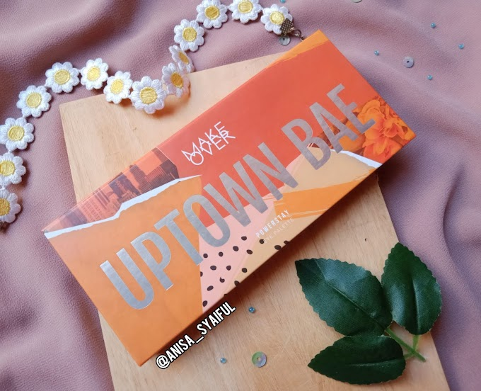 Review Makeover Powerstay Uptown Bae Eye Palette | HALOANISA