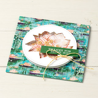 13 Stampin' Up! Sale-a-Bration 2020 Lovely Lily Pad Stamp Set + Lily Pad Dies + Lily Impressions Designer Paper Projects #stampinup #saleabration