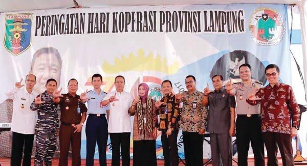 Dekopin Apresiasi Kinerja Pemprov Lampung Memajukan Koperasi