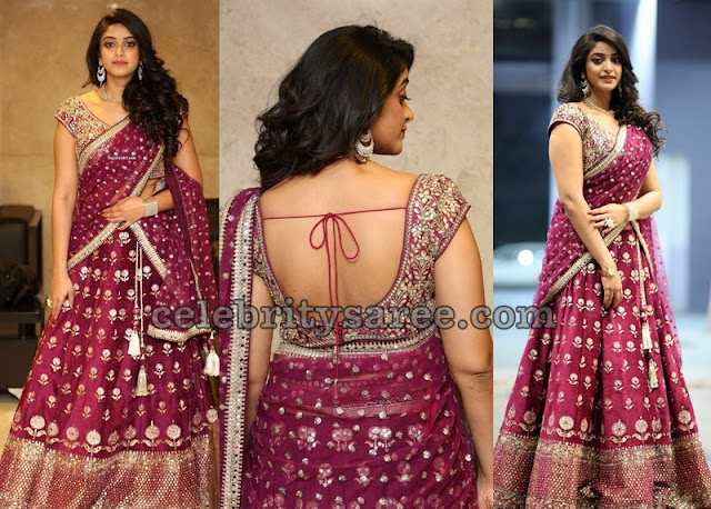 Nakshatra Embroidery Half Saree