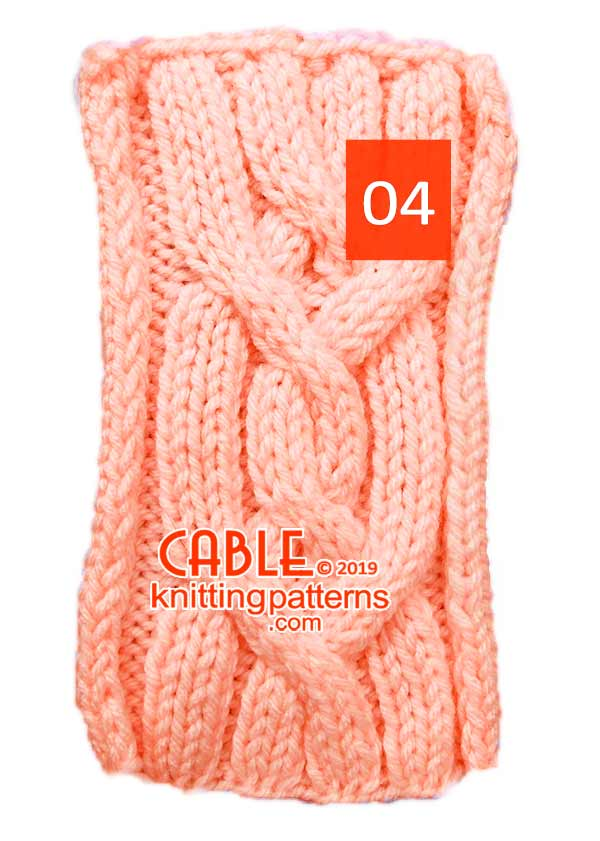 Cable Knitting Pattern 04