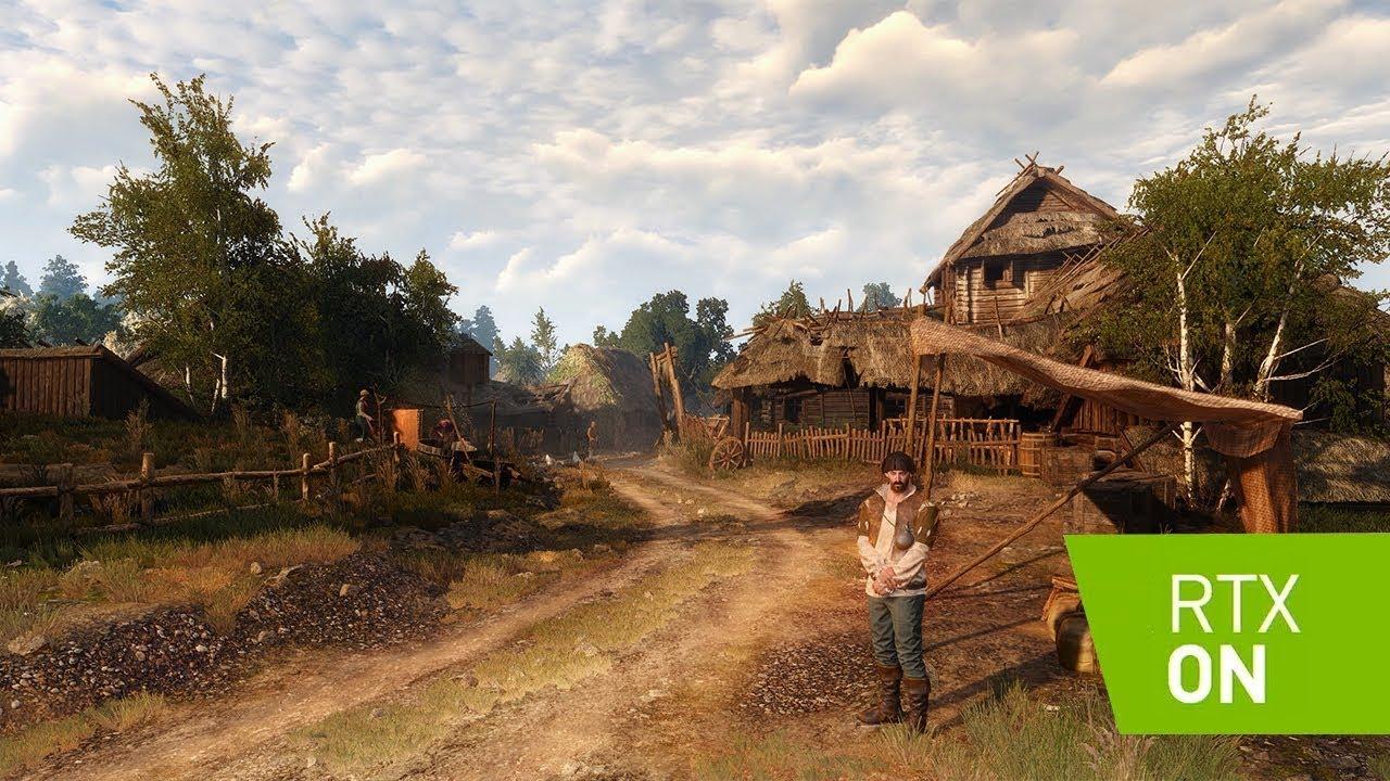 The Witcher 3 resolução 4k e Reshade Ray Tracing