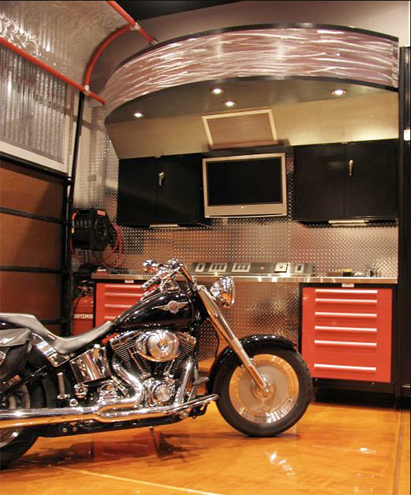 If it 39 s hip it 39 s here archives a cool crib for your for Cool garage interior designs