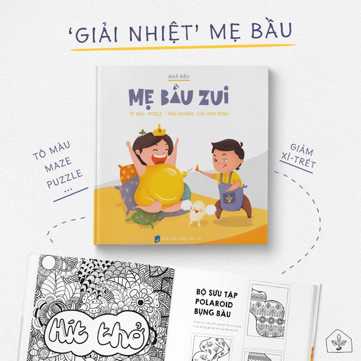 [A116] Activity book - Combo sách hay nên đọc khi mang thai