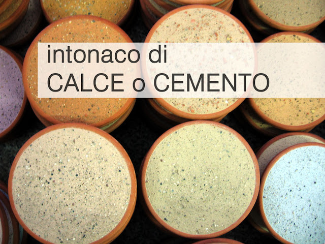 intonaco calce intonaco cemento