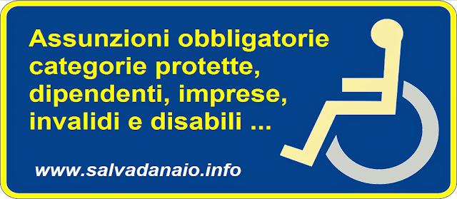 Assunzioni obbligatorie 2016: categorie protette, dipendenti, invalidi e disabili
