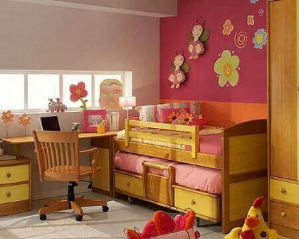 10 cute and lovely bedroom ideas for little girls 3