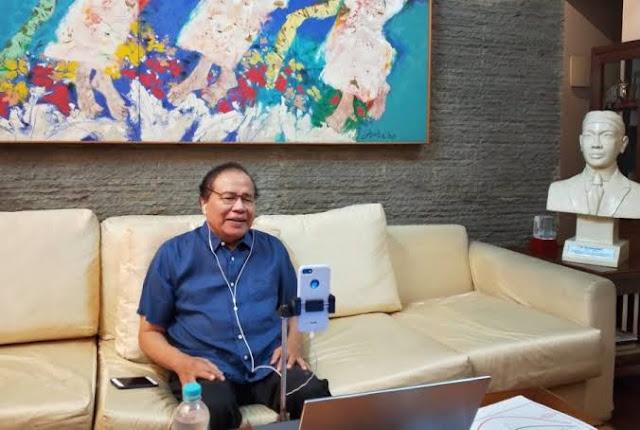 Pertanyakan Kemarahan Jokowi, RR: Ada Gunanya Nggak?