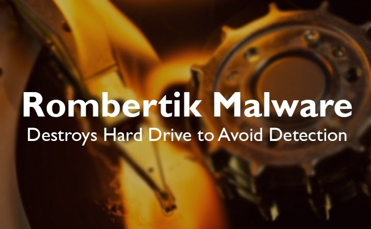 Rombertik Malware Destroys Hard Drives to Avoid Detection