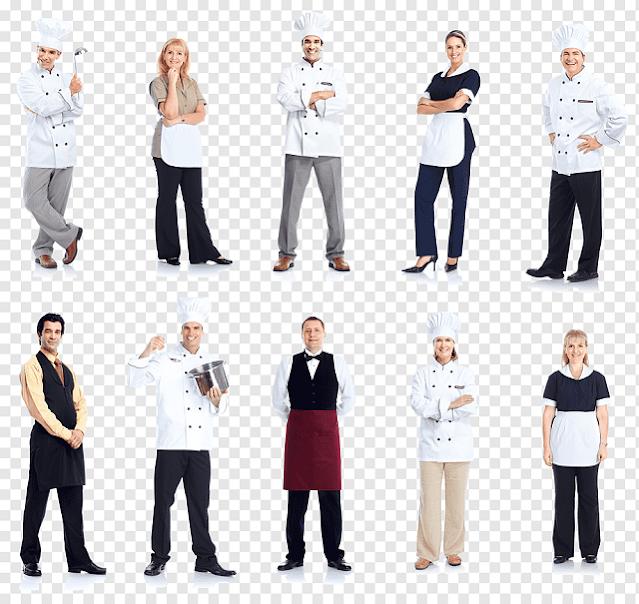 Đồng phục cho các đầu bếp nhà hàng