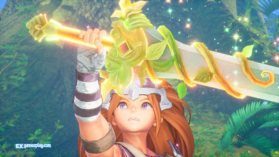Trials of Mana Review Visuals and music stimulates imagination