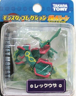 Rayquaza figure Takara Tomy Monster Collection Battle Scene series