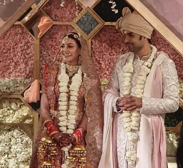 Kajal Agaarwal Guatham Kitchlu Wedding