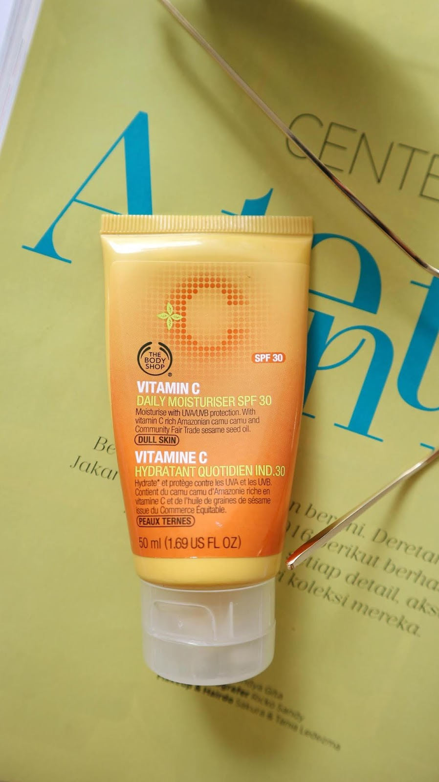The Body Soap Vitamin C Daily Moisturizer SPF 30