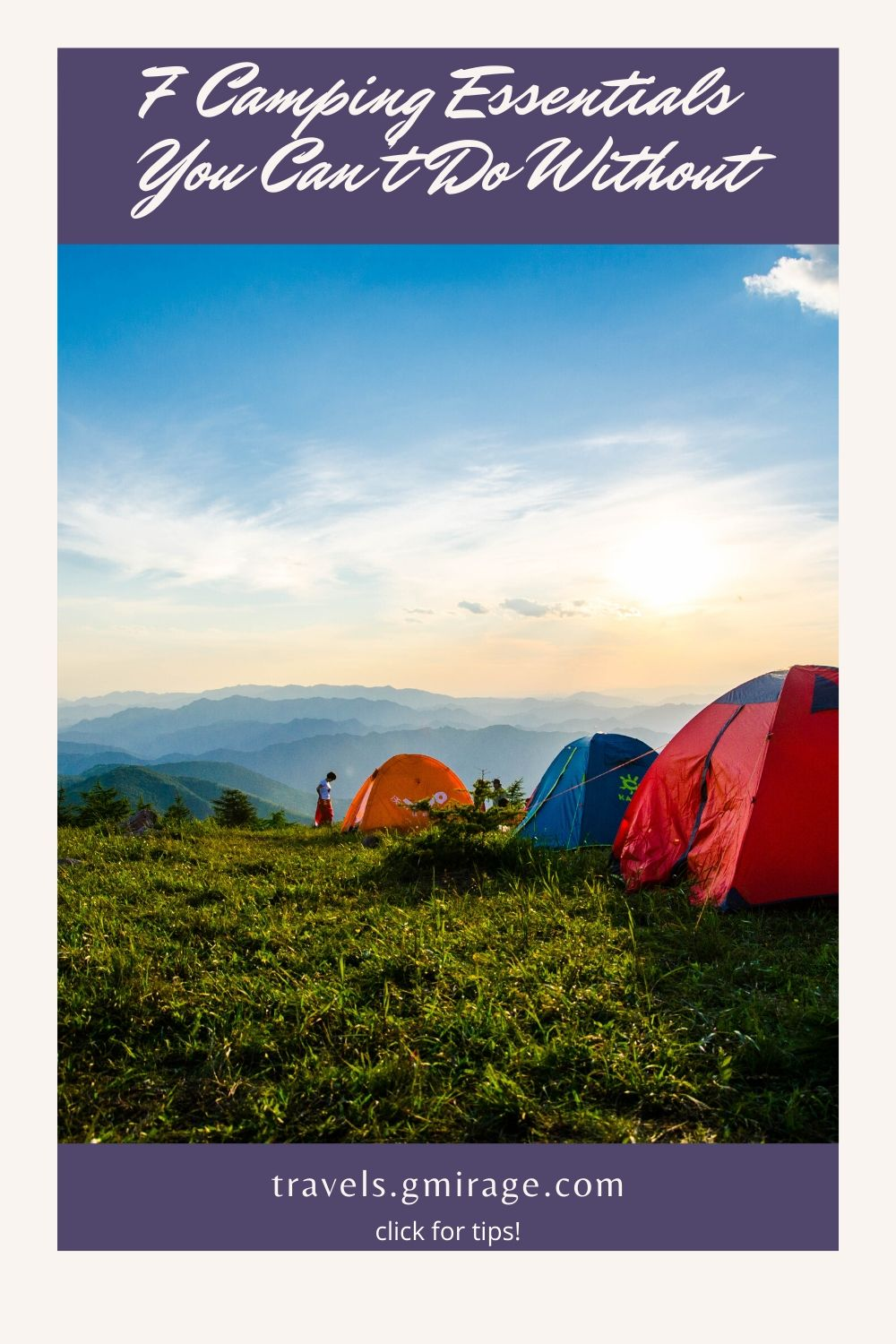 Camping Essentials You Can't Do Without