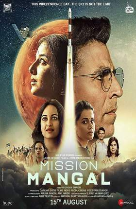 Mission Mangal 2019 Hindi Full Movie 1.2GB pDVDRip 720p Download