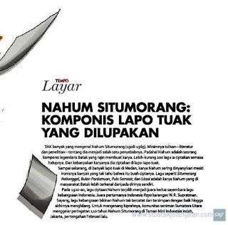 sejarah nahum situmorang