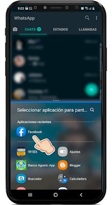 cómo usar dos aplicaciones a la vez en Android