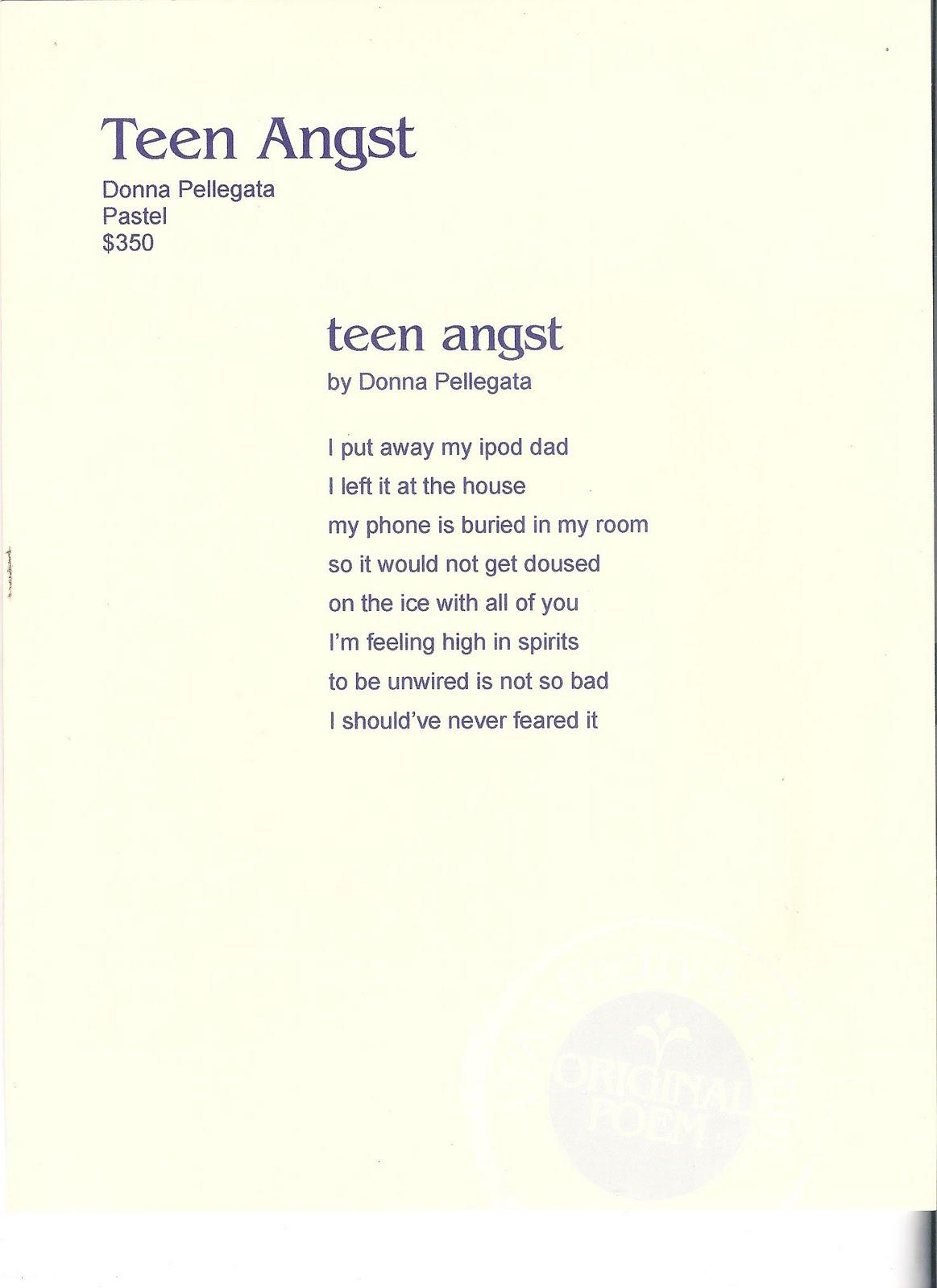 Teen Angst Poetry 109