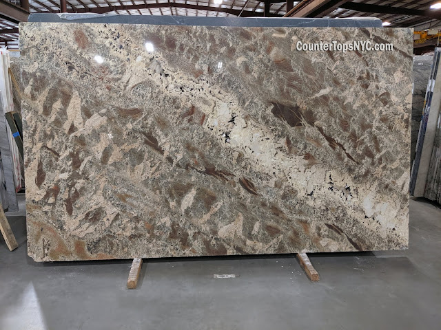 Netuno Bordeaux Granite Slabs NYC