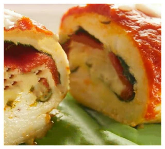 Italian-chicken-roll-ups