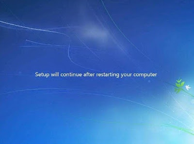 Lanjutan Install Windows 7