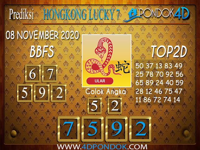Prediksi Togel HONGKONG LUCKY 7 PONDOK4D 08 NOVEMBER 2020