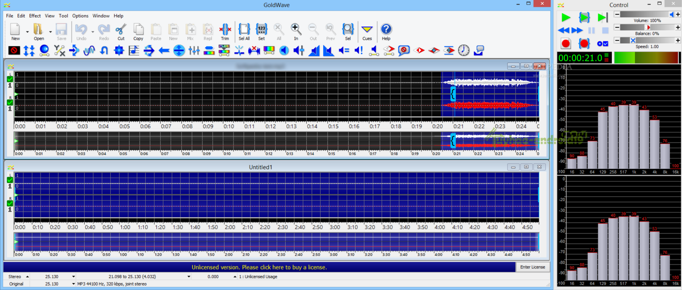 GoldWave 6.24 Full Terbaru | kuyhAa.Me