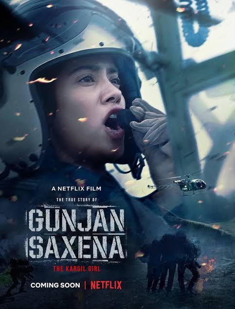 Gunjan Saxena: The Kargil Girl (2020) Hindi HEVC 200MB – 480p & 720p | GDRive | 1DRive
