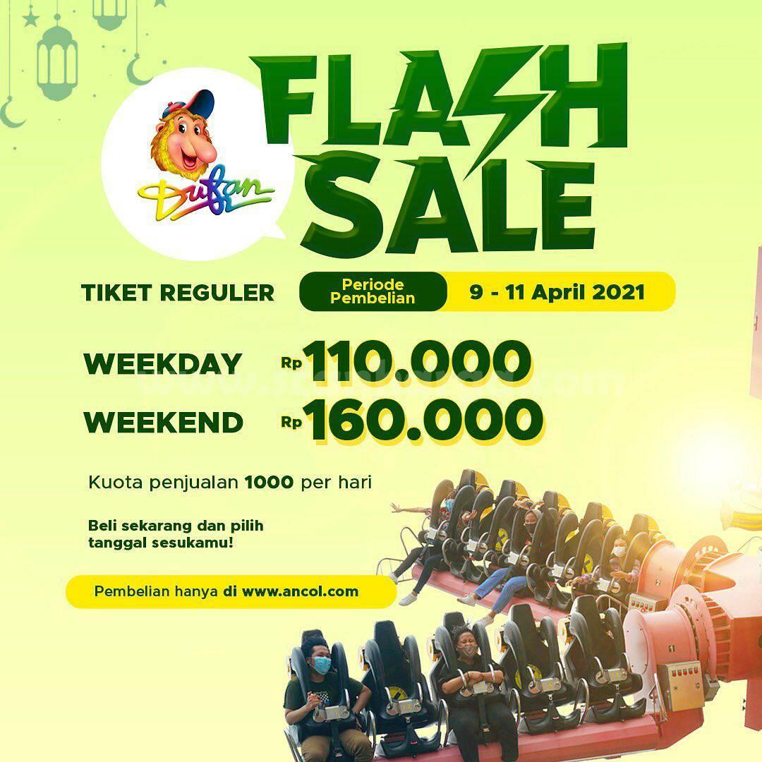 DUFAN FLASH SALE! Harga Promo Tiket Regular mulai Rp 110.000 per orang