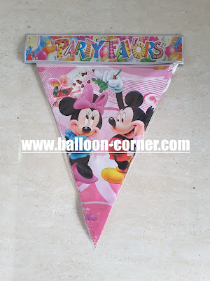 Bunting Flag Mickey Minnie Mouse