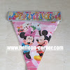 Bunting Flag Motif Mickey Minnie Mouse