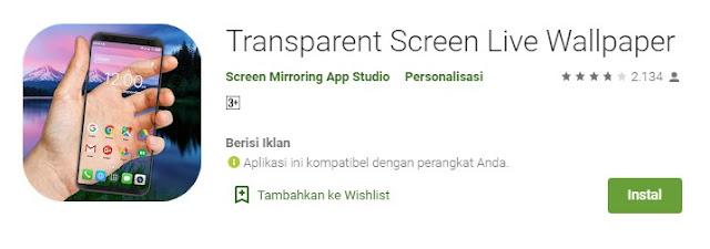 Kumpulan Tema Transparan Android