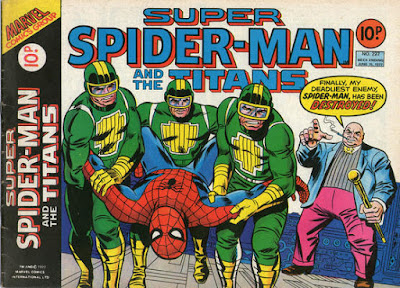 Super Spider-Man and the Titans #227, the Kingpin