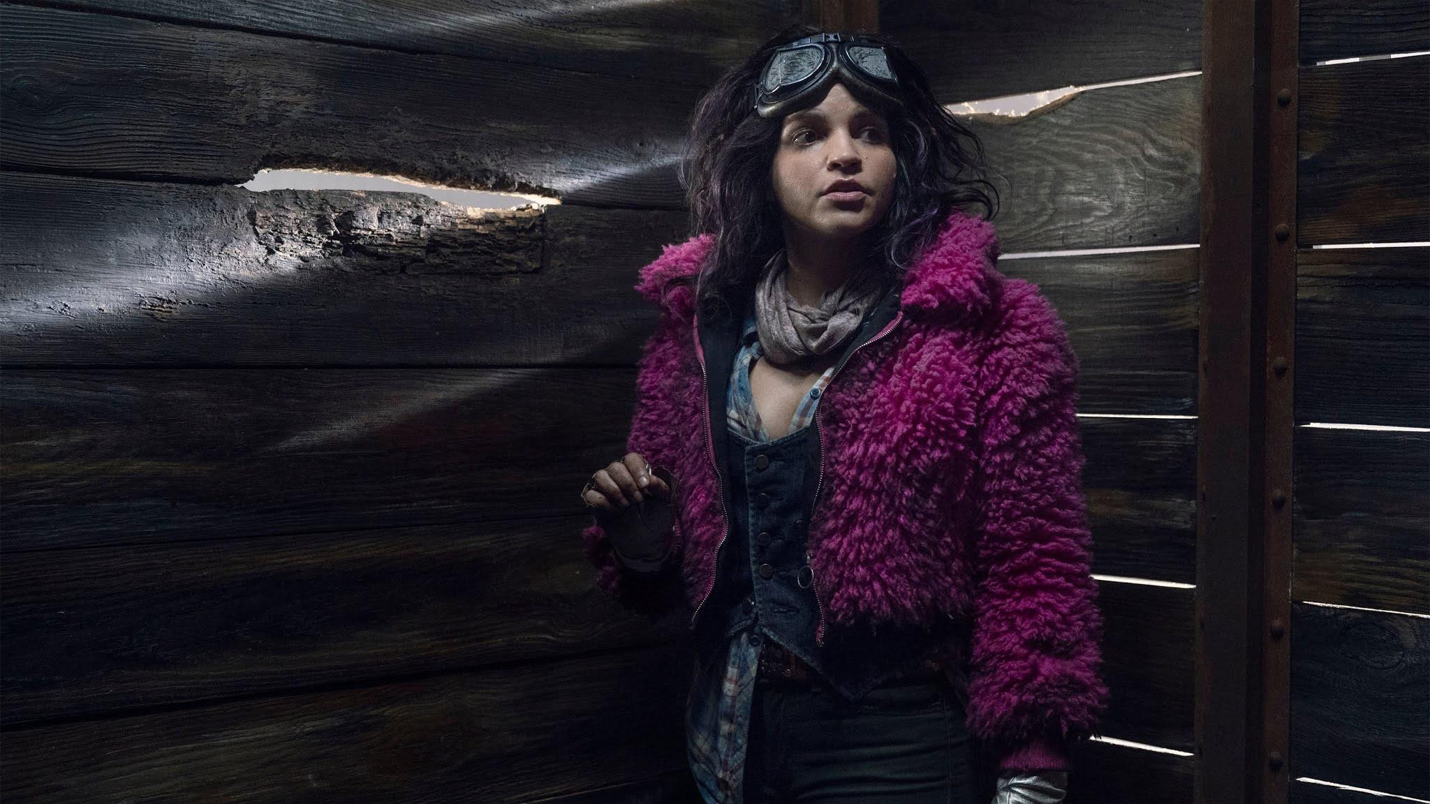 Juanita 'Princess' encerrada en un vagón en The Walking Dead