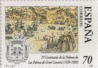 IV CENTENARIO DE LA DEFENSA DE LAS PALMAS DE GRAN CANARIA